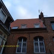 Chantier tuiles 44 Koramic à Douai